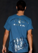 Christian Audigier. Panther Shadow Foiled Tee. $88
