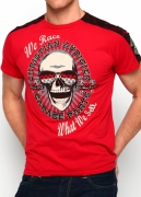 Christian Audigier. On Your Marks Studded Patch Specialty Tee. $119