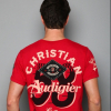 Christian Audigier. CA Est. Specialty Studded Patch Tee. $119