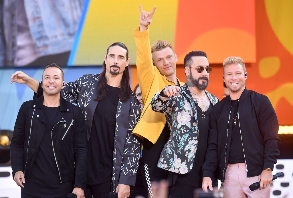 Celebrities 2019. Howie D., Kevin Richardson, Nick Carter, AJ McLean and Brian Littrell of the Backstreet Boys